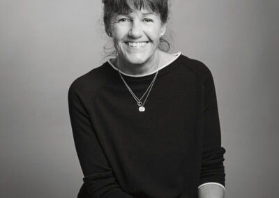 Helle Kjeldsen, fotograferet i studiet i Bogense