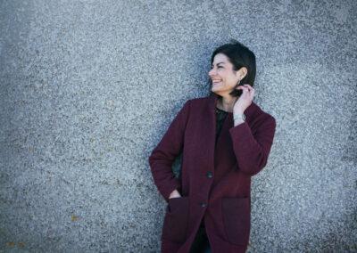 Sabrina Sommer, erhvervsportræt taget på Nordfyn Bogense