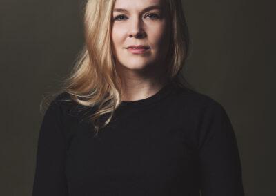 headshot af skuespiller katrine Skovbo af fotograf Winnie Synia